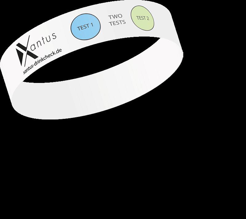 Xantus K.O. Tropfen Schutzarmband
